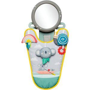 Bez obzira idete li na kraće ili dulje putovanje, Koala centar za igru prilikom vožnje zaokupit će bebinu pažnju, a vama omogućiti da se fokusirate na vožnju. Kada želite provjeriti što se događa s vašim djetetom jednostavno pogledajte u unutarnji retrovizor auta gdje ćete imati savršen pogled na vašu bebu, zahvaljujući sigurnosnom ogledalu povezanom s centrom za igru...