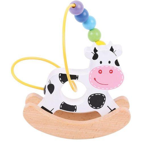 Bigjigs Didaktička igračka kravica slika 1