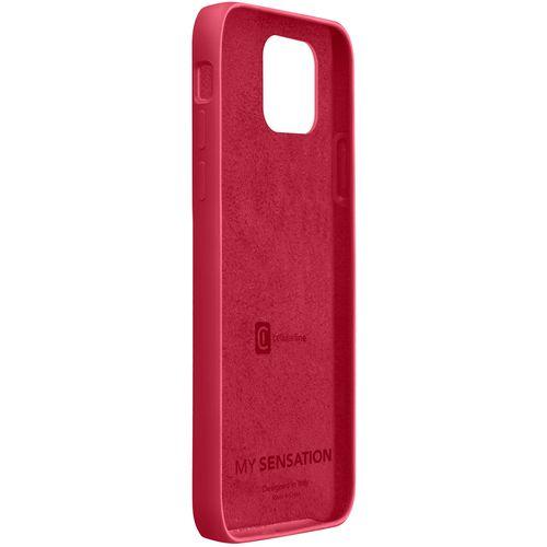 Cellularline Sensation silikonska maskica za iPhone 12 Mini crvena slika 2