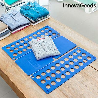 <p>Predstavljamo vam najboljeg pomoćnika u slaganju odjeće na jednostavan način,<strong>Pomagalo za Slaganje Odjeće InnovaGoods</strong>!Jednostavnim pokretima mogu se složiti košulje, puloveri, haljine, hlače, bluze, jakne, plahte, ručnici itd.</p>I...