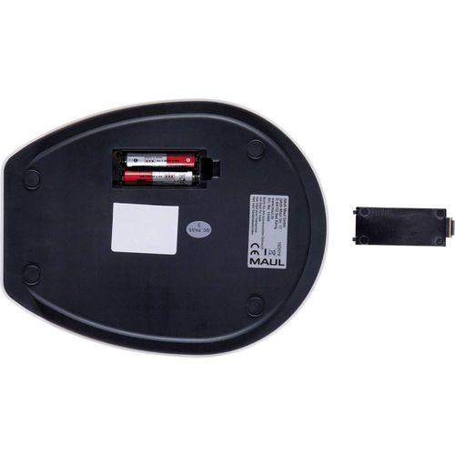 Vaga za pisma Maul Opseg mjerenja (kg) 5000 g Mogućnost očitanja 1 g baterijski pogon Bijela slika 4