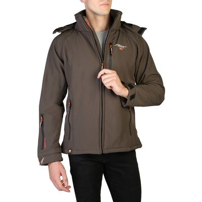 Brown   Fall/Winter   Men   Jackets   Polyester