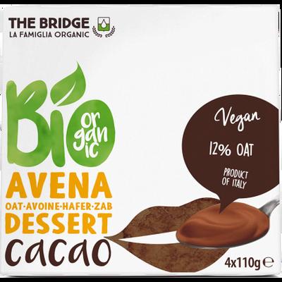 THE BRIDGE Desert od zobi s kakao kremom BIO 4x110g