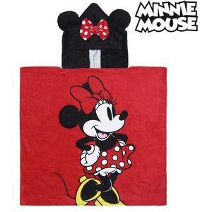 Frotirni Ručnik s Kapuljačom Minnie Mouse 74140