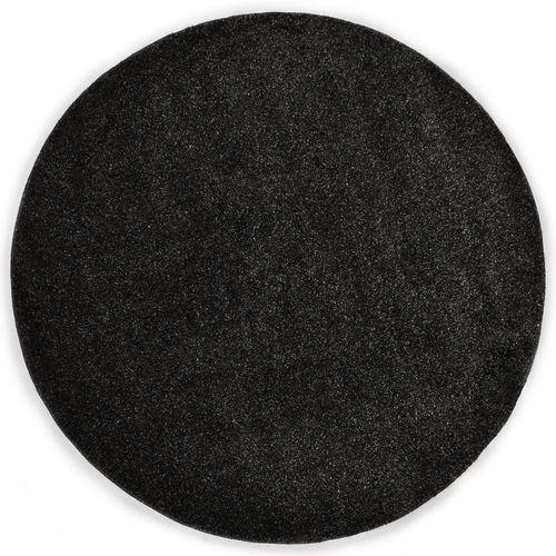 Čupavi ukrasni tepih 160 cm antracit slika 1