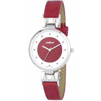 Volite li biti u trendu po pitanju mode i modnih dodataka, kupite <b>Ženski satovi Arabians DBA2244R (33 mm)</b> po najpovoljnijoj cijeni.Spol: DamaVrsta pokreta: KvarcMaterijal kutije: ČelikMaterijal remena: KožaBoja tijela: RdečaKristal: MineralăVrst...