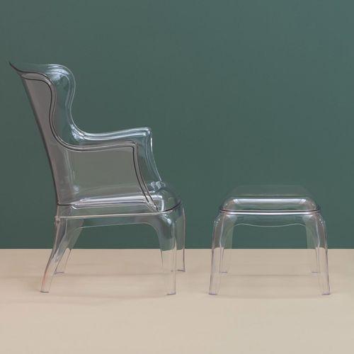 Dizajnerska fotelja — POLY LOUNGE slika 10