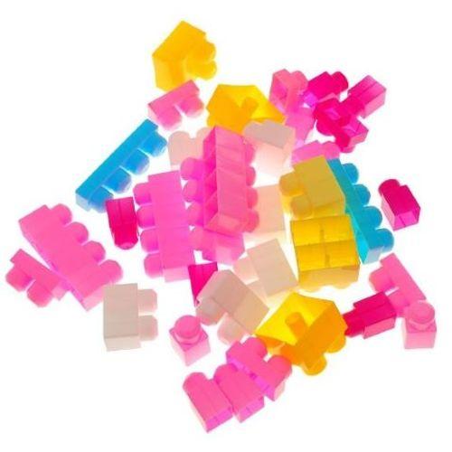 Set 35 roza kockica (18mj+) slika 3