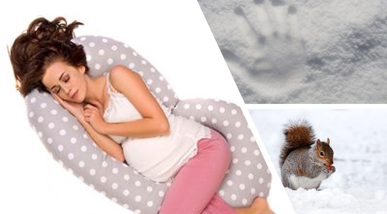 Jastuk za spavanje u trudnoći...