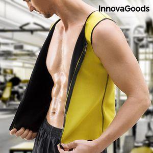 <p>Maksimizirajte svoju fizičku aktivnost uz novi<strong>Muški Sportski Prsluk s Učinkom Saune InnovaGoods Sport Fitness</strong>! Ovaj prsluk za mršavljenje učinkovit jei jednostavan način dovođenja u formu! Ovaj muški prsluk posebnoje dizajniran z...