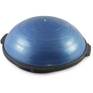 Ravni dio lopte je obložen pjenom koja sprečava klizanje. Najpopularniji rekvizit za trening ravnoteže, poboljšanje koordinacije i jačanje mišića stabilizatora trupa. Ima značajnu ulogu i u medicini, kao i u specifičnim treninzima za pojedine...