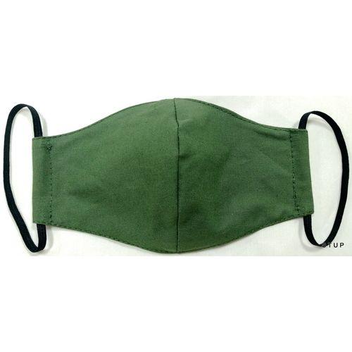 Dječja pamučna maska za lice - Kids 7-14 Military slika 1