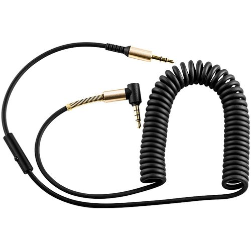 hoco. Audio kabel 3.5 mm sa mikrofonom, dužina 2.0 metra - UPA02 Spring Audio AUX MIC slika 2