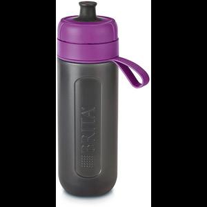 Bočica BRITA Fill&Go ACTIVE je high tech bočica za vodu volumena 0,6l izrađena. Pakiranje uključuje Micro Disc filter posebne tehnologije za filtraciju do 150 litara vode koji smanjuje udio klora i ostalih nečistoča u vodi te čuva minerale. Mekana bočica otporna na udarce bez BPA za brzo gašenje žeđi. Eco-friendly zamjena za PET bočice. Perivo u perilici posuđa.