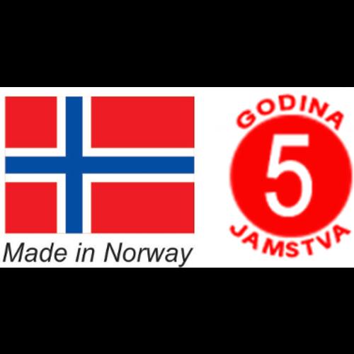 Beha PV04 norveški radijator zidni 400W WiFi slika 3