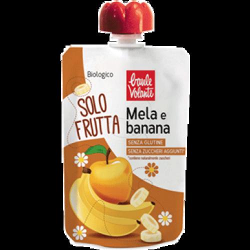 BAULE VOLANTE Pire voćni jabuka & banana BIO  100g slika 1