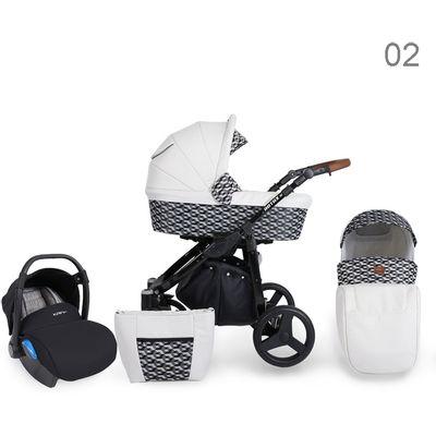 Dječja kolica Kunert Rotax Alu je model iz renomirane tvornice dječjih kolica Kunert- u potpunosti izrađeno u EU te dolazi s dvogodišnjim jamstvom. Kolica su vrlo praktična i izvrsnog omjera cijene i kvalitete. Dostupno u nekoliko elegantnih i neutralnih boja te dvije boje konstrukcije – crna i bijela.