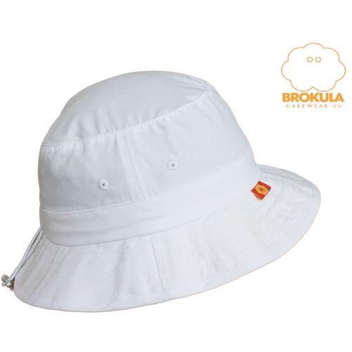 BROKULA SALPA  UV šešir  za odrasle bijeli, ONE SIZE slika 1