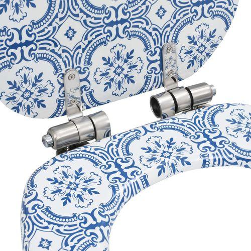 Toaletna daska s mekim zatvaranjem 2 kom MDF uzorak porculana slika 16