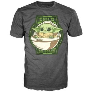 Star Wars Mandalorian Yoda The Child On Board t-shirt