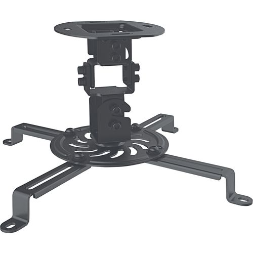 Manhattan univerzalni stropni nosač projektora do 13.5 kg crni slika 1