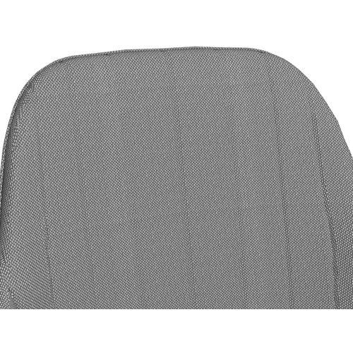 Blagovaonske stolice od tkanine 2 kom svjetlosive slika 6