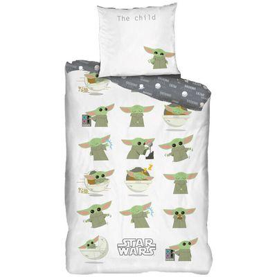 Veličina navlake za poplun: 140x200 cm.  Veličina presvlake za jastuk: 63x63 cm.  100% pamuk.