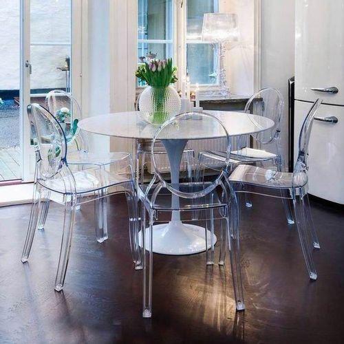 Dizajnerska stolica — POLY OVAL slika 2