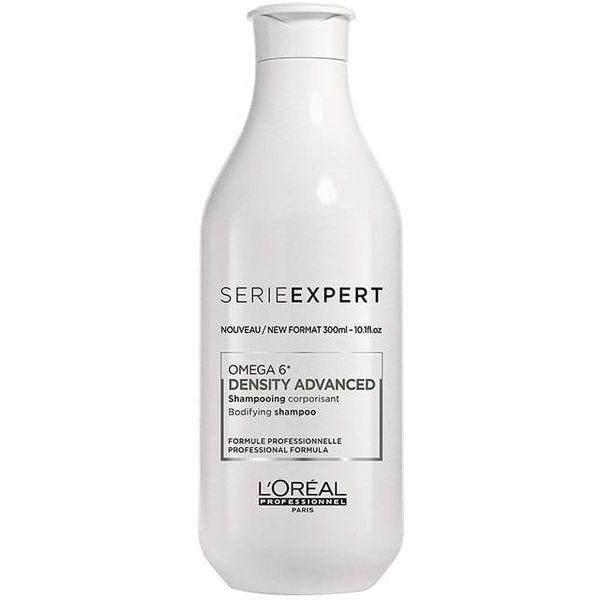 L'Oréal Professionnel Density Advanced Šampon 300 ml Šampon za punoću kose. Utrljajte malu količinu na ruke i aplicirajte po vlažnoj ili suhoj kosi za kreiranje oblika i držanje. PROFESIONALNA FORMULA obogaćena vitaminom PP, B6 i OMEGA 6 masnim...