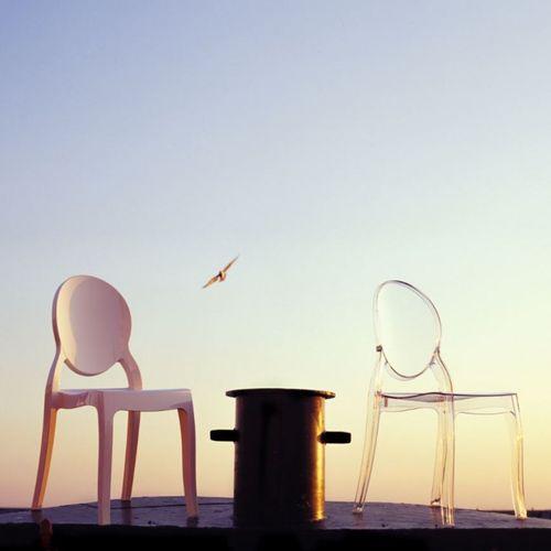 Dizajnerska stolica — POLY OVAL slika 36