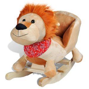 Ova visokokvalitetna ljuljajuća igračka s prelijepim lavićem donijet će bebama utjehu i radost. Ova mekana, plišana ljuljačka bit će sigurno omiljena igračka vaših mališana. Vaša će dječica uživati, satima se ljuljajući na ovoj prekrasnoj...