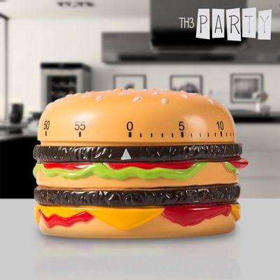 <p>Ako volite kuhati, a kod pripreme omiljenih slastica morate paziti na točno vrijeme kuhanja, onda je ovaj artikl ono što vam treba. Ovaj <strong>kuhinjski timer Hamburger</strong> idealan je <strong>brojač vremena </strong>koji će vam pomoći da vaša...