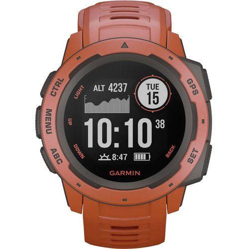 GPS sportski sat Garmin INSTINCT Hellrot/Schiefergrau Svijetlocrvena slika 1