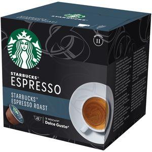 Isprobaj novi NESCAFÉ Dolce Gusto Starbucks! Svaki espresso napitak koji vlastoručno pripremamo za vas, počinje upravo ovdje. Naš je pothvat počeo još 1975. godine potragom za savršenom kombinacijom kavenih zrna i prženja, a nekoliko mjeseci kasnije završio otkrivanjem kave koju držite u ruci. Recept za karamelastu slatkoću tako je dobar da nije nikad mijenjan. Godine usredotočenog rada i stručnosti urodile su plodom u spektru okusa iz linije STARBUCKS Roast Spectrum.
