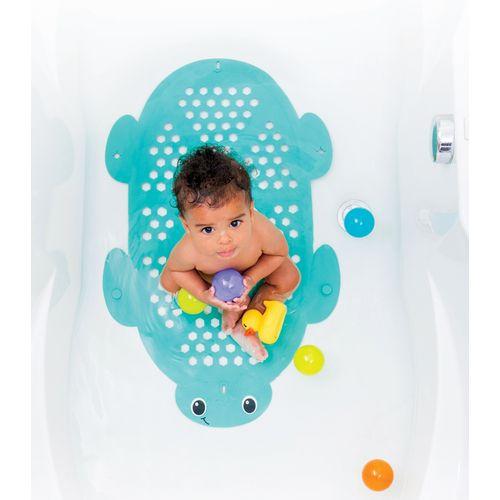 Infantino 2u1 Prostirka za kupanje i košara za igračke - Kornjača slika 3