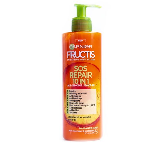 Garnier Fructis SOS Repair 10 u 1 krema za kosu bez ispiranja 400ml slika 1