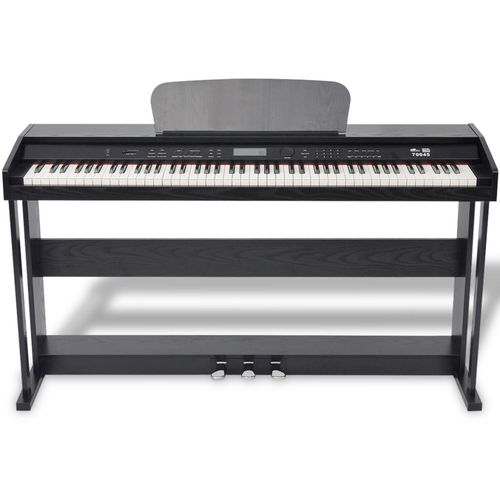 Digitalni klavir s pedalama crnom melaminskom pločom i 88 tipki slika 21