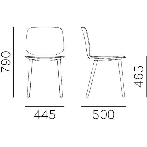 Dizajnerska stolica — by FIORAVANTI • 1 kom. slika 2