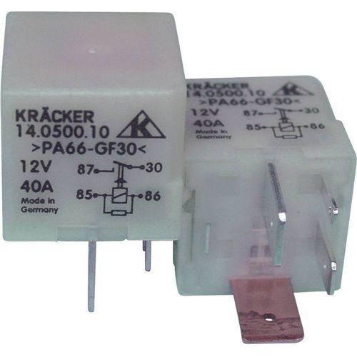 Relej za automobile Kräcker 14.0500.10, 12 V/DC, 1 x radni kontakt, 15 A, 60 V/AC, 75 V/DC slika 1