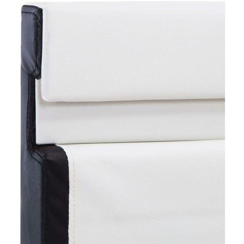 Okvir za krevet od umjetne kože LED bijeli 160 x 200 cm slika 6