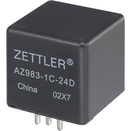 Relej za automobile Zettler Electronics AZ983-1A-12D, ISO, 12V/DC, 80 A, maks. 75 V/DC slika 1