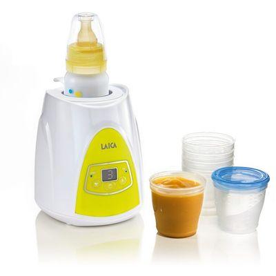 Digitalni grijač bočica i dječje hrane Laica može brzo i sigurno podgrijavati bočice mlijeka, staklenke i posude s hranom