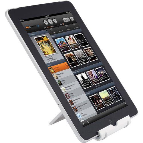 renkforce univerzalni stalak za pametni telefon, tablet računala, iPad, bijele boje slika 5