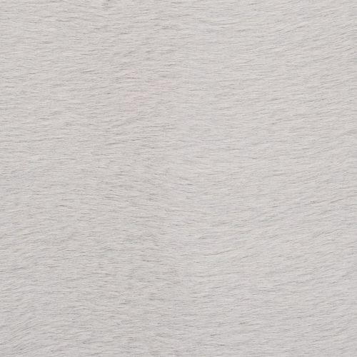 Tepih od umjetnog zečjeg krzna 160 x 230 cm sivi slika 2