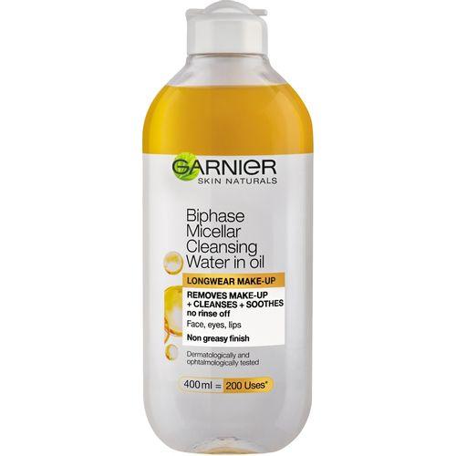 Garnier Skin Naturals Dvofazna micelarna voda za čišćenje lica 400 ml slika 1