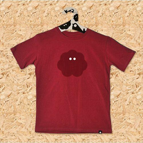 Dječja majica UV MINI PITONKA NA KRATKE cigla crvena slika 1