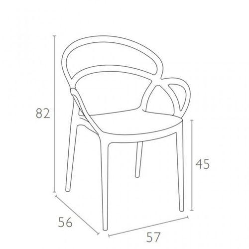 Dizajnerska stolica — BONZINI M slika 17