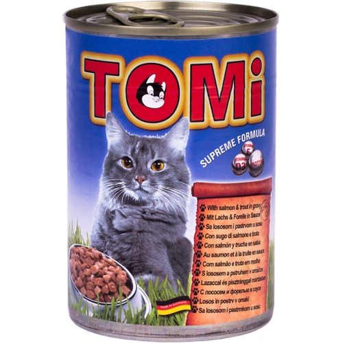 Tomi Hrana za mačke konzerva Losos/Pastrva 400g slika 1
