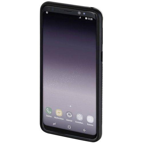 Hama Frame Stražnji poklopac za mobilni telefon Pogodno za: Samsung Galaxy S9+ Prozirna, Crna slika 5