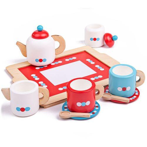 Bigjigs Set za čaj na tacni slika 1